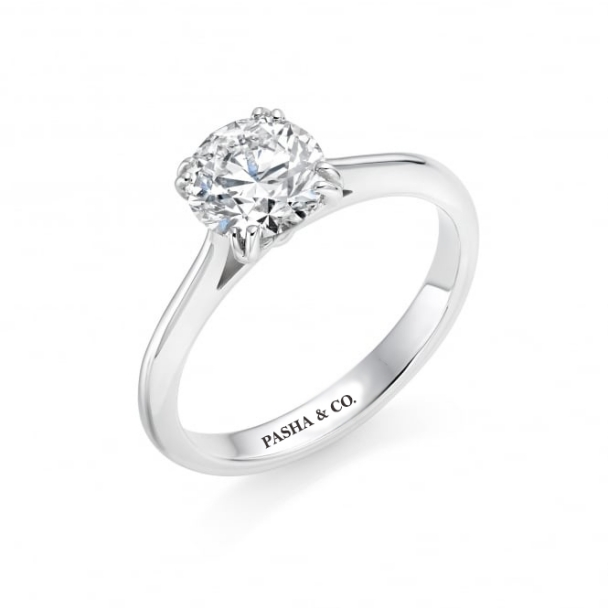 1,03 CT SOLITAIRE DIAMOND RING