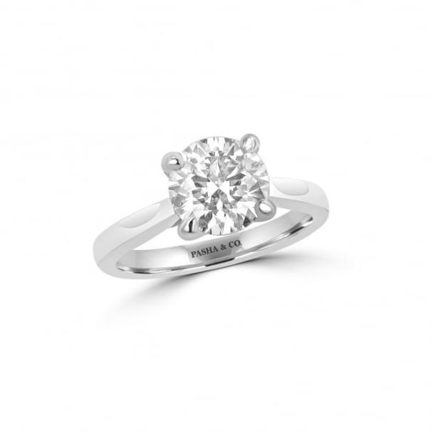 2,20 CT SOLITAIRE DIAMOND RING